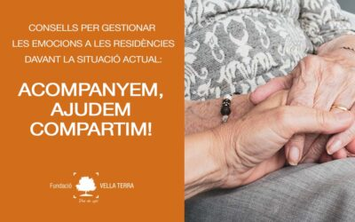 Afectació del confinament en persones que viuen en residències: Què podem fer