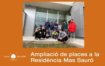 Mas Sauró amplia les seves places per a persones amb discapacitat intel·lectual
