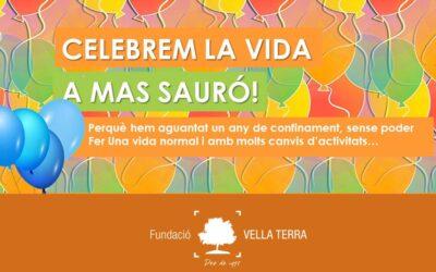 Un dia de festa i celebració a Mas Sauró