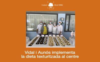 La texturització d'aliments arriba a Vidal i Aunós